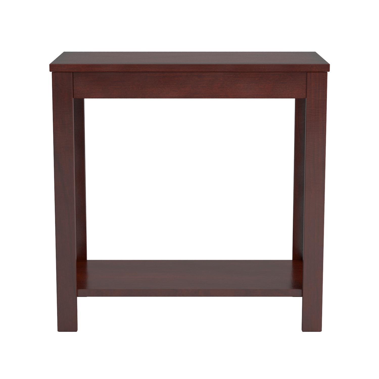 Amazoncom Crown Mark Pierce Chair Side Table, Espresso Kitchen &