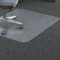 Lorell LLR69703 Polycarbonate Rectangular Chair Mat, 7.09 Height X 26.77 Width X 73.62 Length