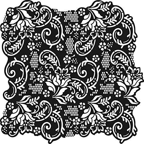 Viva Décor 400600100 Lace Background Stencil