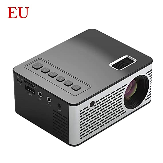 rosemaryrose Mini proyector portátil UC26, proyector LED HD ...