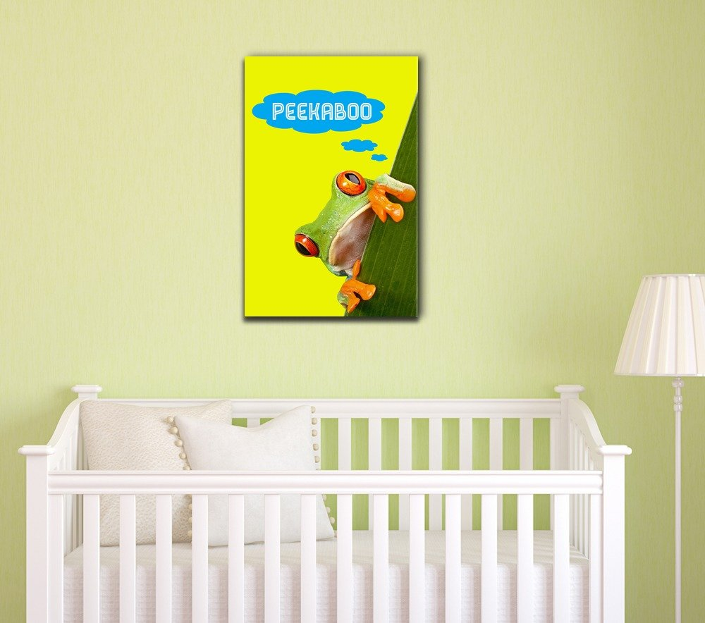 Amazon.com: wall26 - Nursery Decor Canvas Wall Art - Adorable ...