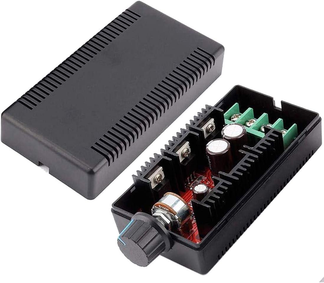 Kyrio DC Interruptor de control de velocidad del motor 12V 24V 48V 2000W MAX 10-50V 40A PWM HHO RC Regulador, 1 paquete