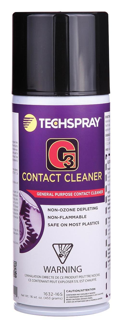 TECHSPRAY 1632-16S CLEANING CHEMICAL, AEROSOL, 368ML
