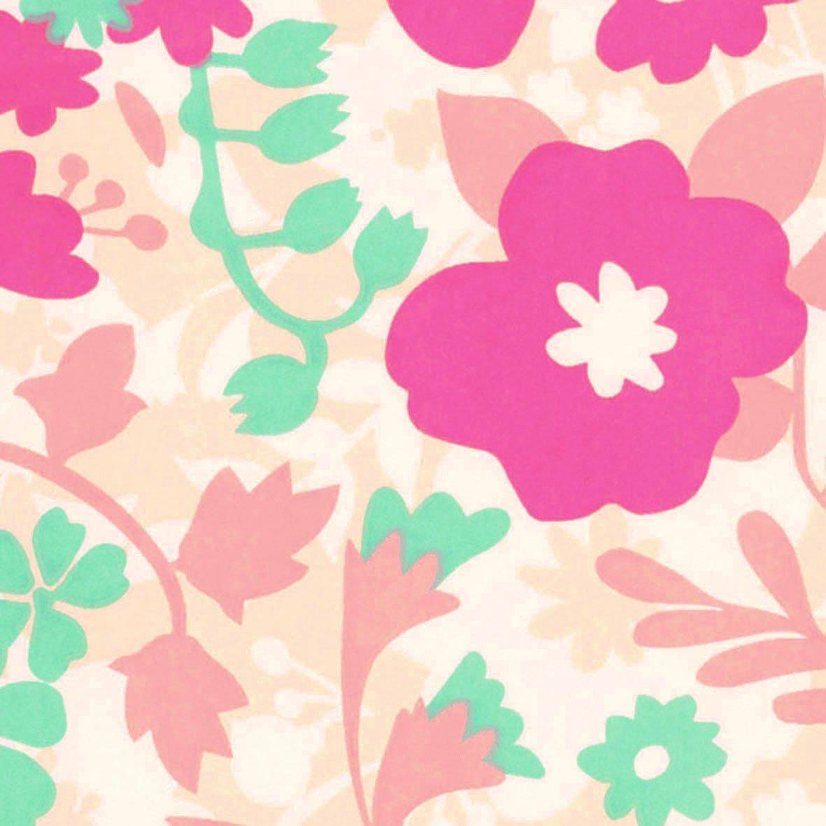 リリカラ 壁紙32m キッズ 花柄 ピンク LL-8061 B01N3WECM9 32m ピンク