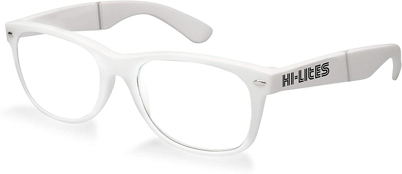 HI-LITES Special Effect Light Changing//Light Diffraction Glasses Heart Effect Lenses Interchangeable Lens Style