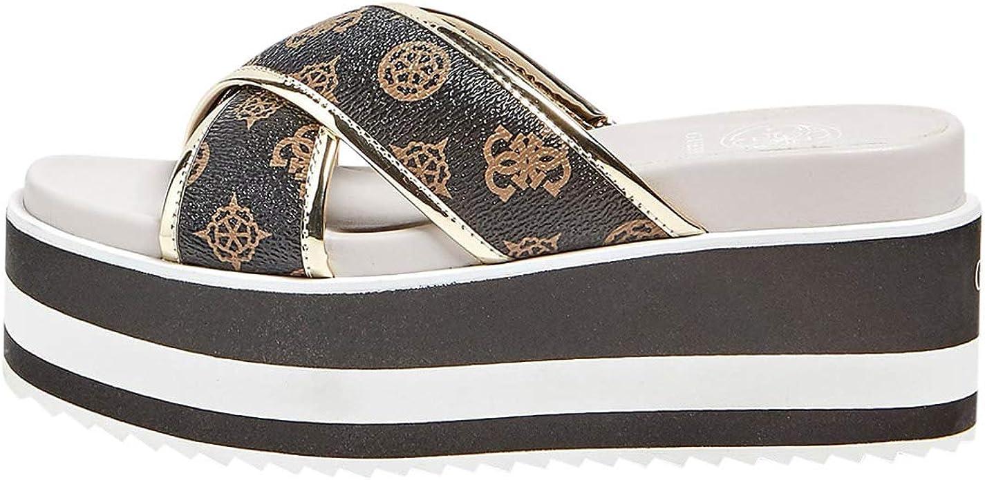 GUESS Women's Remina Platform Sandals