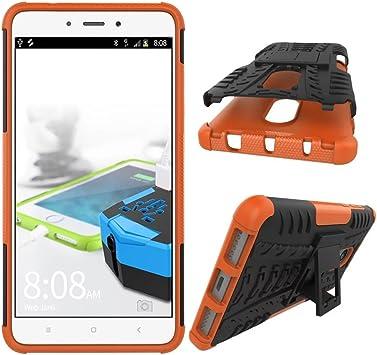 OFU®Para Xiaomi RedMi Note 5 Smartphone, Híbrido Caja de la Armadura para el teléfono Xiaomi RedMi Note 5 del teléfono- Naranja: Amazon.es: Electrónica
