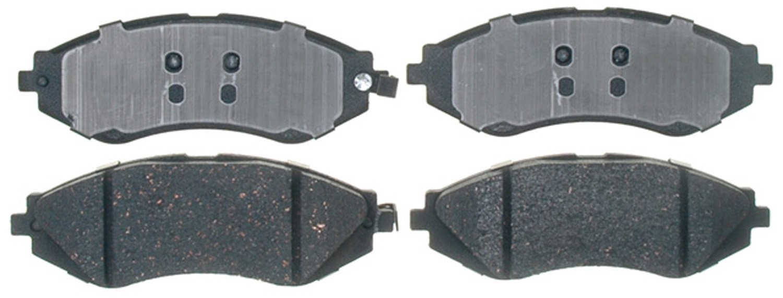 ACDelco 17D1035C Professional Durastop Ceramic Front Disc Brake Pad Set