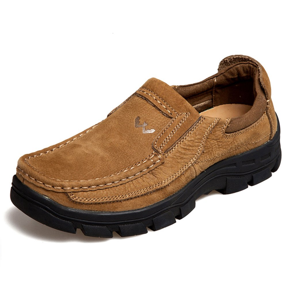 Men's Casual Slip-On Loafers Made With Nubuck – Perfect For Walking, Work & Outdoor Activities 818-K39