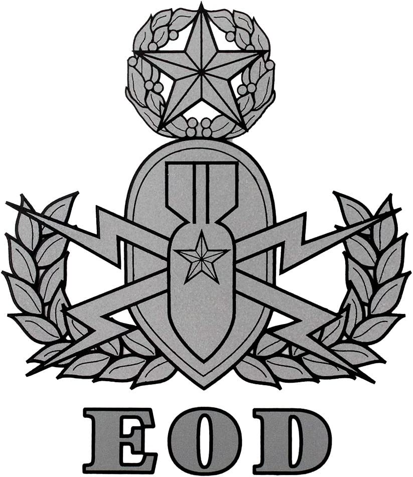 EOD Master 3.5x4 Decal