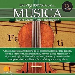 Breve historia de la música Audiobook