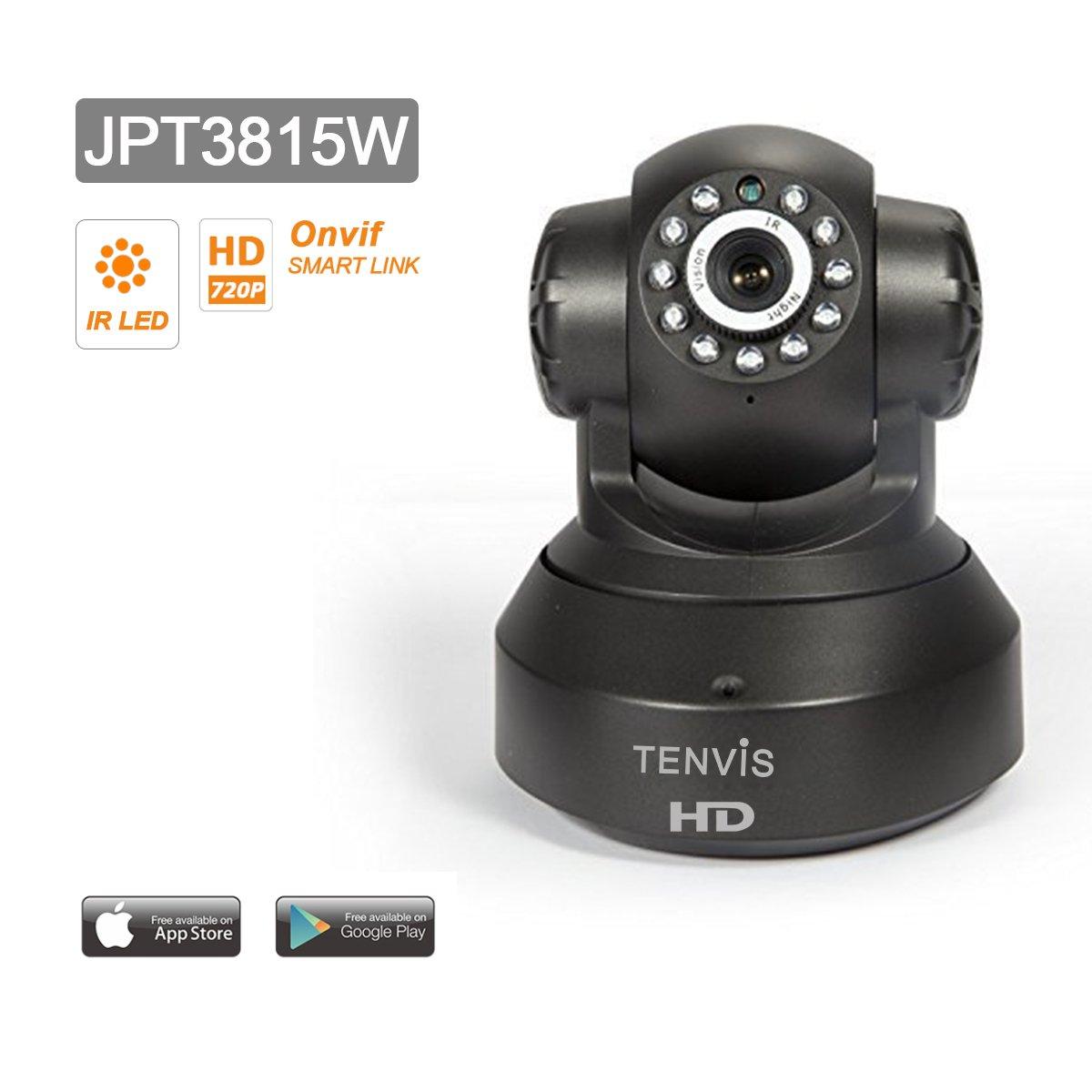 Tenvis jpt3815w c mara ip de seguridad en hd 720p 1280x720 h264 amazon es electr nica