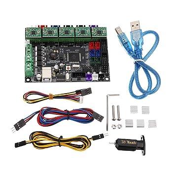 HU ZHANG Impresora 3D Placa del módulo, MKS-Gen Controlador ...