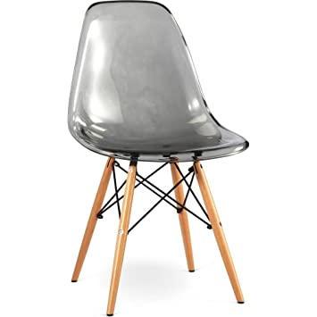Free Dsw Stuhl Charles Eames Style Acryl Transparent Set Von With Charles  Eames Sessel With Eames Inspired Stuhl