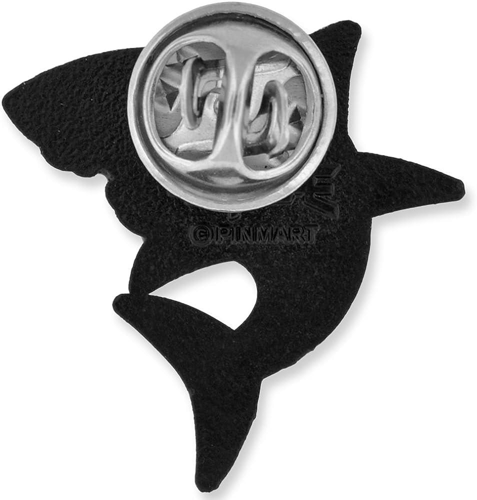 PinMart Shark Ocean Animal Enamel Lapel Pin
