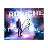 WWE Authentic Wear Ricochet 8 x 10 Autographed
