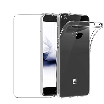 Dyluck Funda para Huawei P8 Lite 2017 + Protector de ...