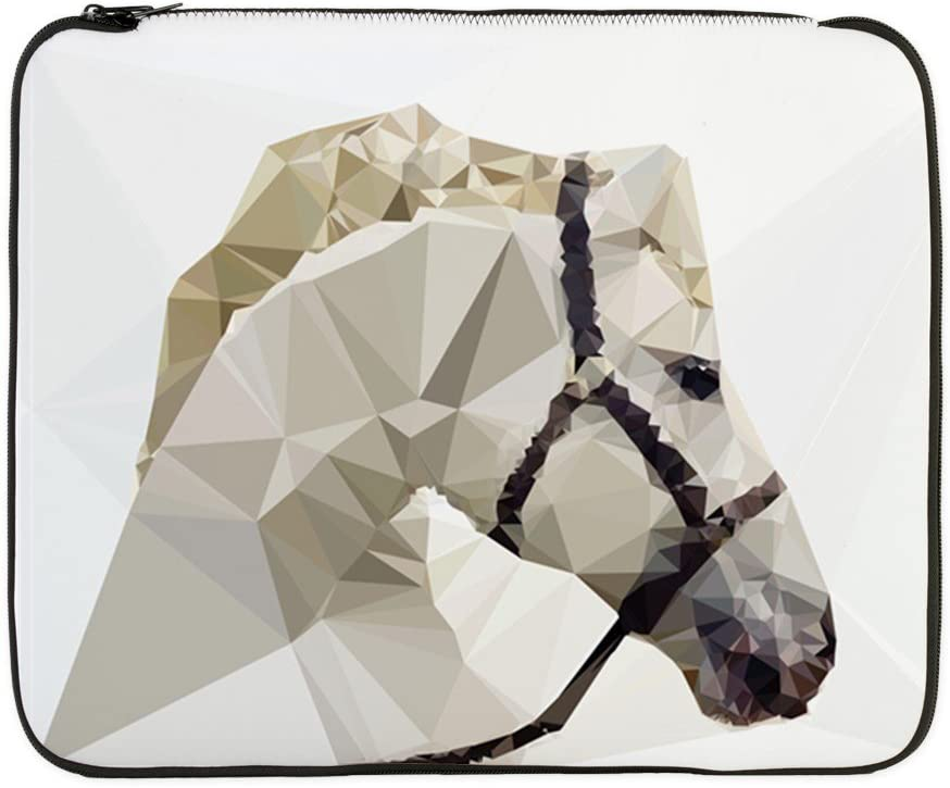17 Inch Laptop Sleeve Triangle Horse