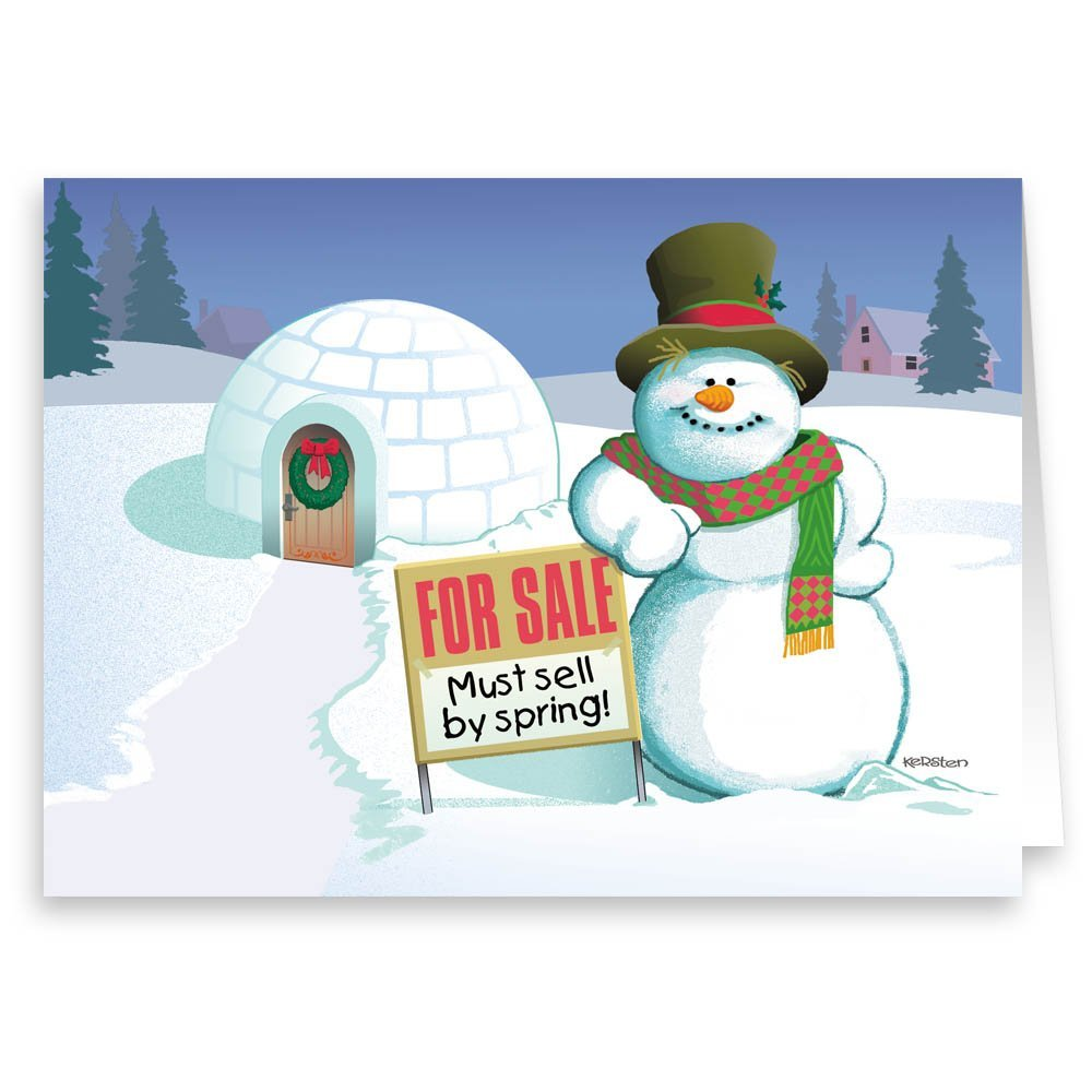Amazon Sweet Deal Real Estate Holiday Card Funny Realty