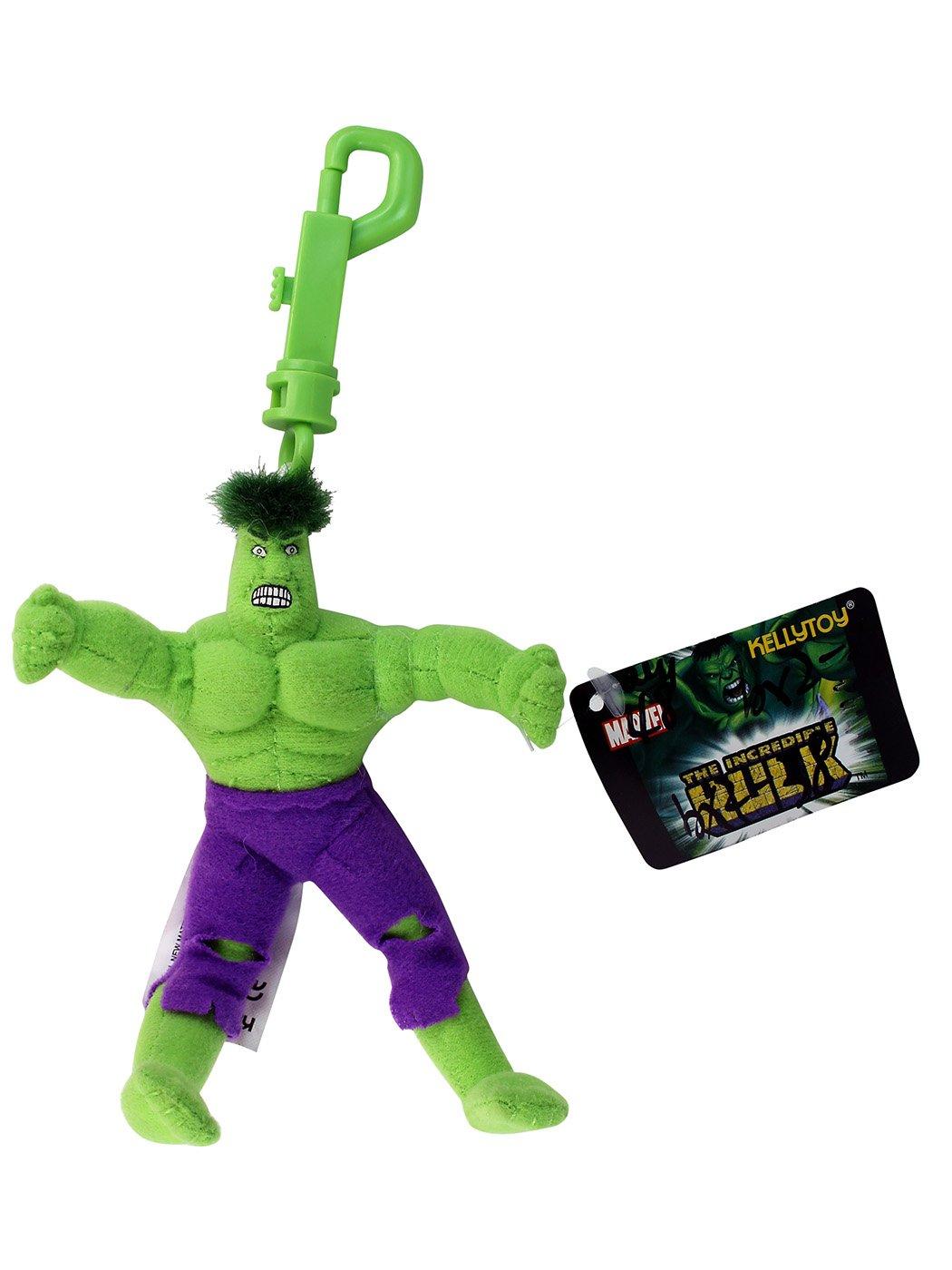 Marvel Mini Hulk Peluche Llavero - The Hulk Llavero: Amazon ...