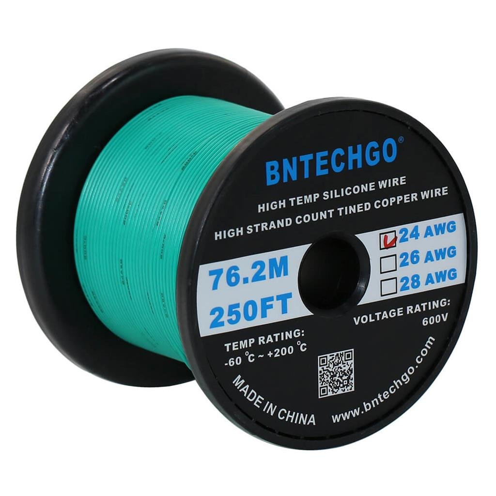 Amazon.com: BNTECHGO: 24 Gauge Silicone Wire