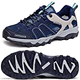 Odema Men Ultrathin2.0 Mesh Quick Drying Aqua Water Shoes ,Navy Blue ,9 D(M) US
