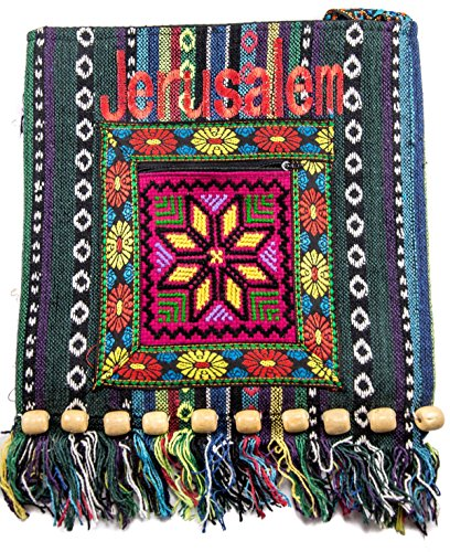 Jerusalem Camel Handmade Hand Bag Hand Bag Zipper Cloth Beautiful Holy Land