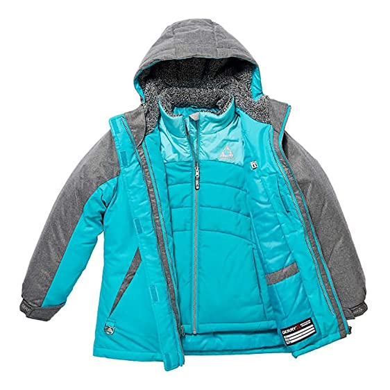 Amazon.com: Gerry Girl's 3-in-1 Systems All Weather Jacket with ...