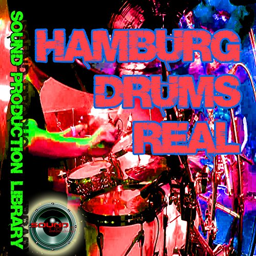 HAMBURG DRUMS Real - Unique Original 24bit Multi-Layer Samples/Loops Library on DVD or for download by SoundLoad