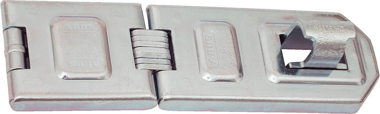 ABUS 140/190 All Weather Stainless Steel Hasp ( 7-1/2'')
