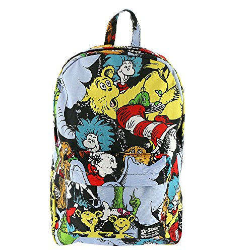 Loungefly Dr. Seuss Characters Backpack Standard -