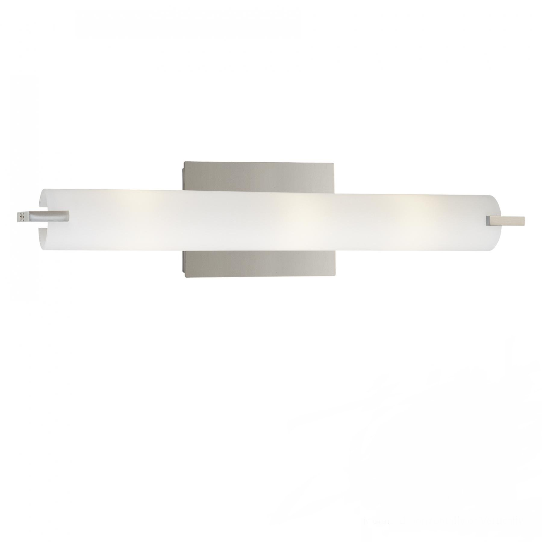 George Kovacs P5044-077-L, Tube, LED Bath Fixture, Chrome
