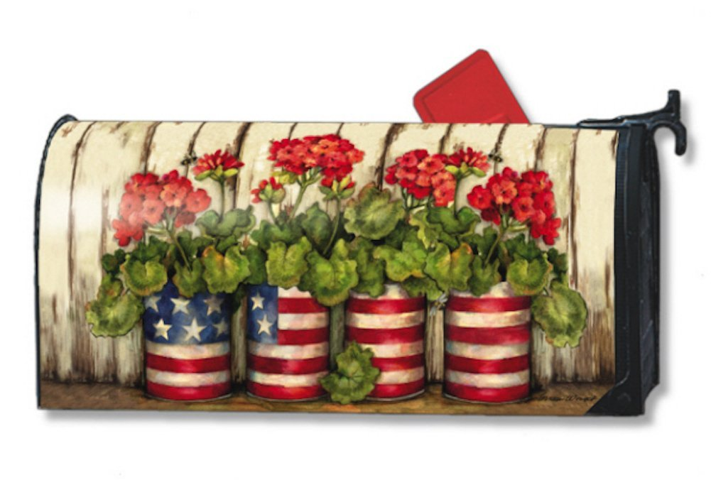 MailWraps Glory Garden Mailbox Cover 04090 by MailWraps