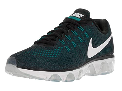 Nike Mens Air Max Tailwind 8 Running Shoes, Black/Ocean Fog/Gamma Blue