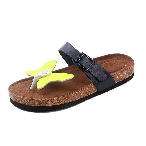 Zapatillas,Chanclas,Zapatos,Zapatillas Personalizadas Tendencia Personalizada Zapatillas de Corcho de Dibujos Animados: Amazon.es: Zapatos y complementos