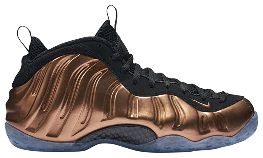 Black, metallic copper-black Nike Mens Air Foamposite One  White Foam  Synthetic Basketball shoes