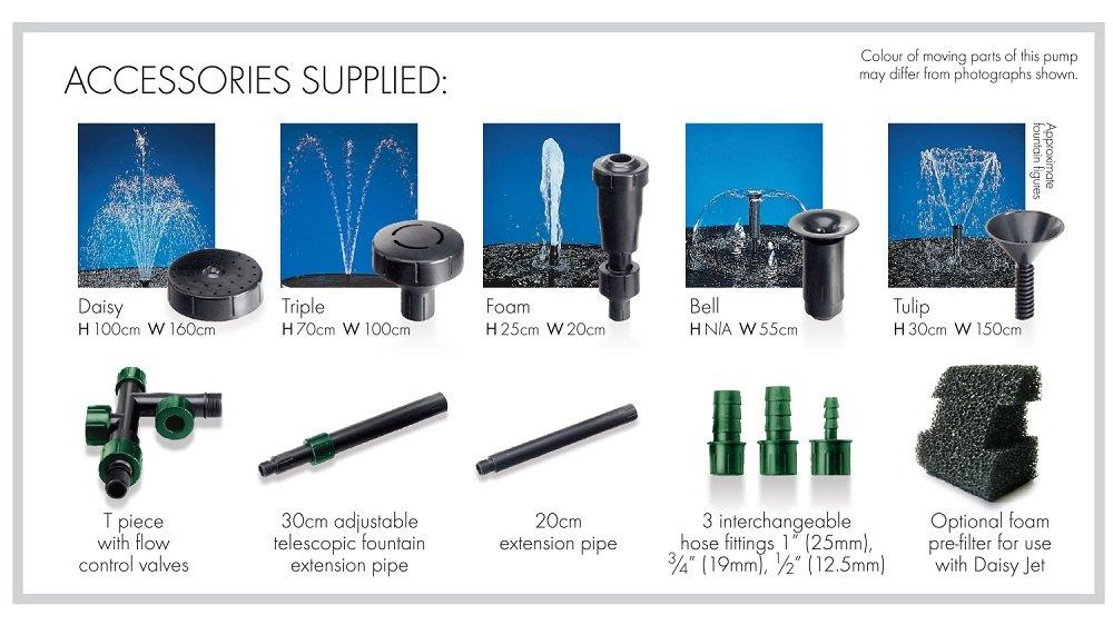 Blagdon 4500 Midi Pond Pump – for Large Ponds Interpet Ltd 1050159 25364