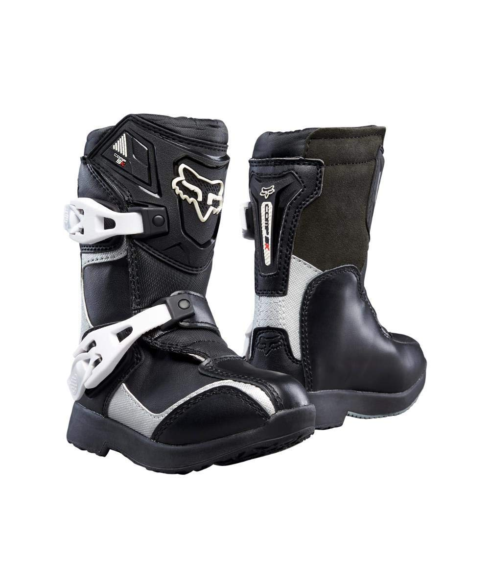 7202aa61b1d Fox Racing 2019 Comp 5K Boots - Pee Wee (K11) (Black/Silver)