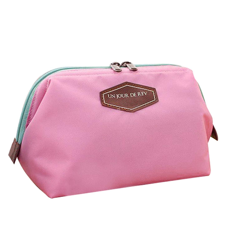 b723df8754 Amazon.com   Beauty Cute Women Lady Travel Makeup Bag Cosmetic Pouch Clutch  Handbag Casual Purse 4 color