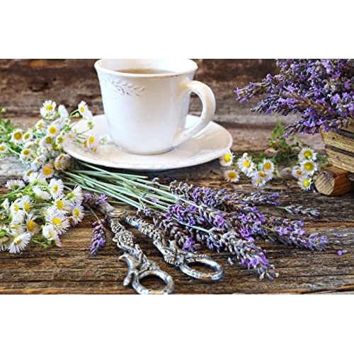 Chamomile Lavender Stress Relief Blend - Loose Leaf Organic Herbal Tea by Dr. Rosemary's Tea Therapy. Caffeine & Gluten Free.
