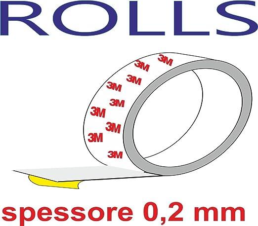 3 opinioni per Quattroerre 16041 Rotolo/Nastro Adesivo 3M per Protezione Telaio Bicicletta-2,5