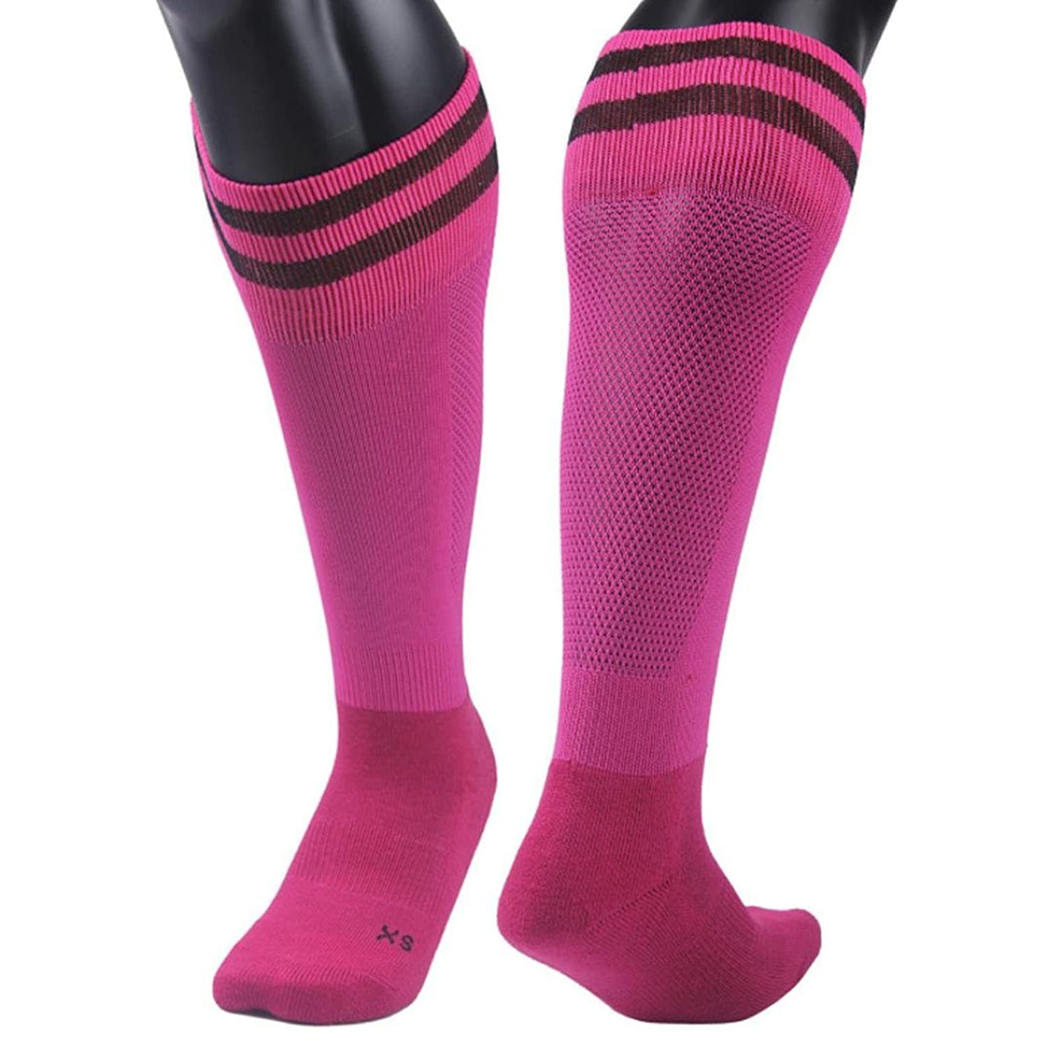 AMA(TM) Children Students Professional Knee High Outdoor Sports Running Soccer Football Socks for 9-13 Years hot sale