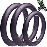(3-Pack)16'' x 1.75/2.15 Back and 12.5'' x 1.75/2.15 Front Wheel Replacement Inner Tubes for BoB Stroller Tire Tube…