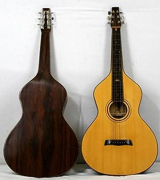 musikalia Guitarra Hawaiian Lap Steel Guitar Weissenborn sólida ...