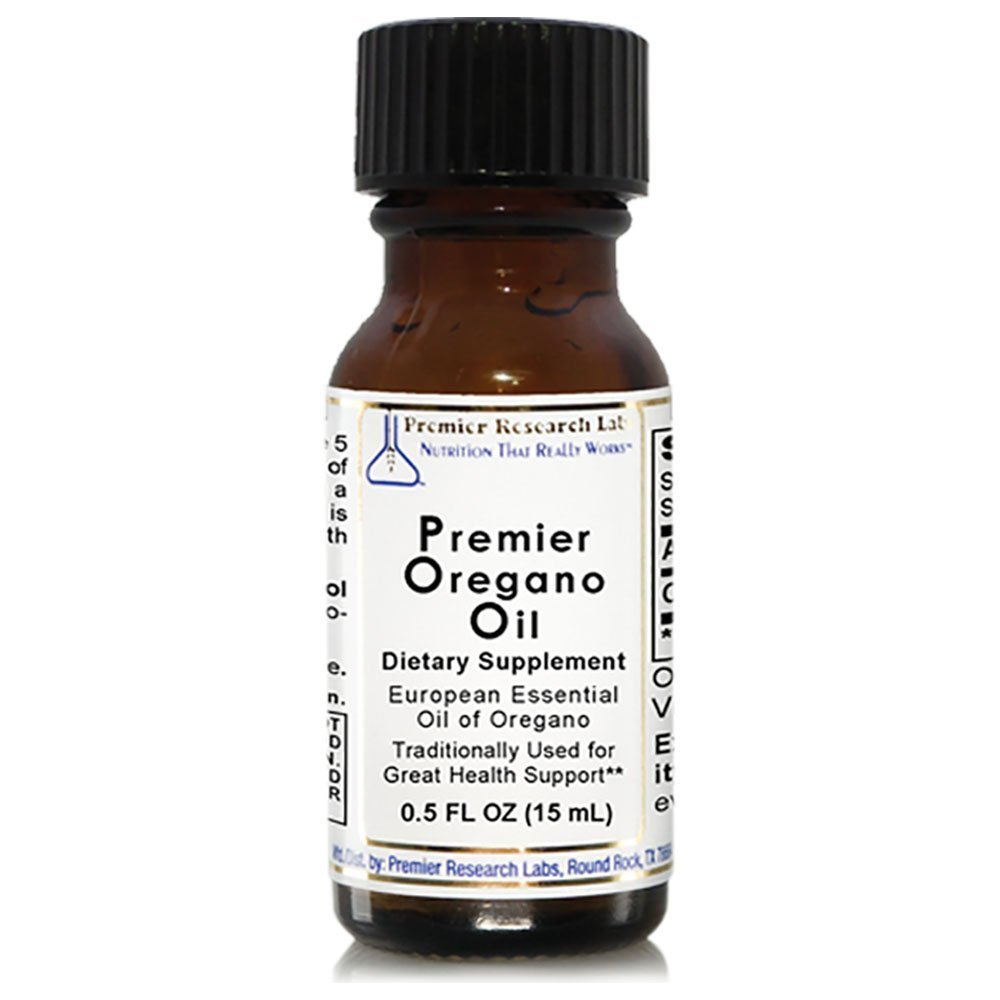 Premier Oregano Oil by Quantum Research Labs 322 Servings/2 Bottles Origanum vulgare
