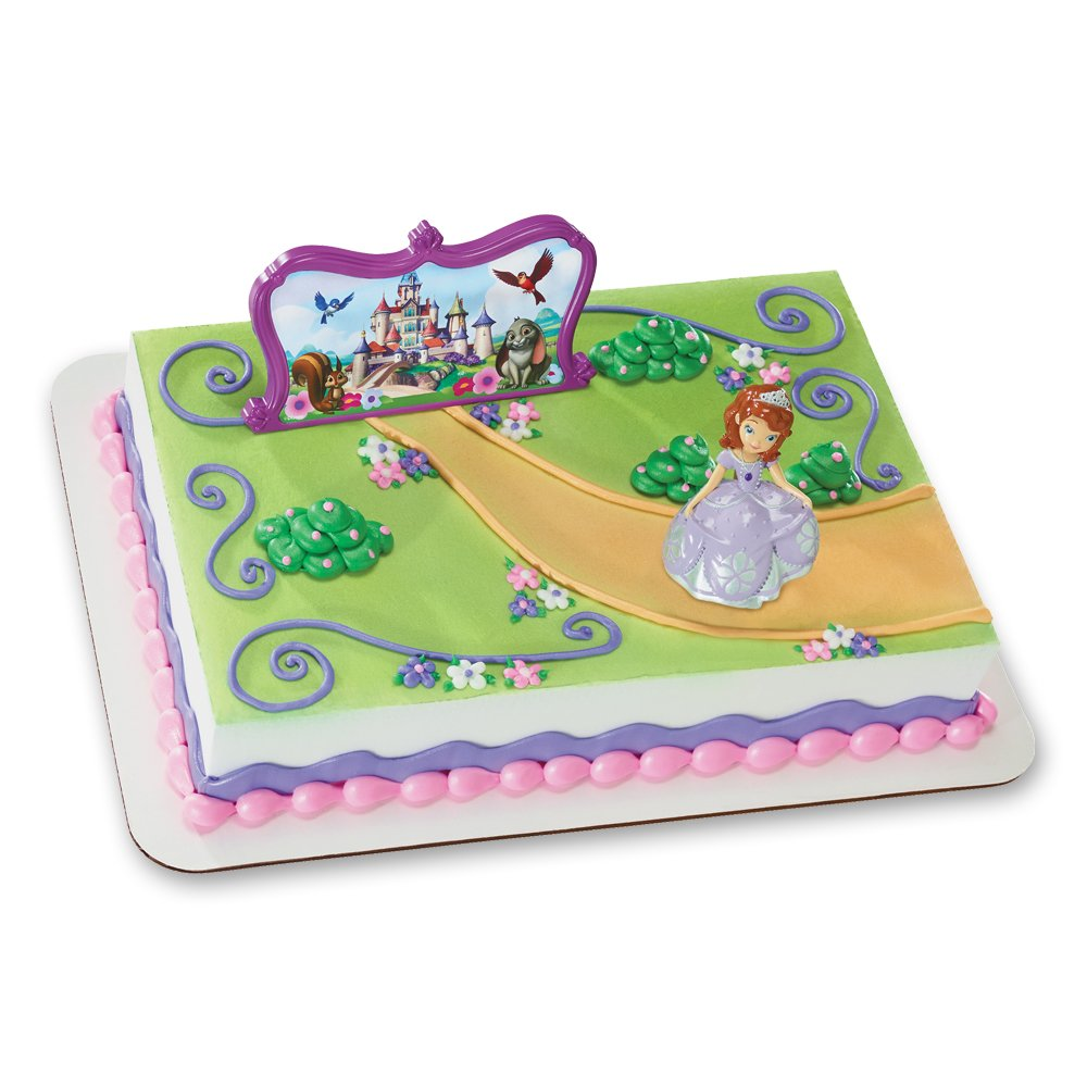 Amazoncom Decopac Sofia The First Sofia and Castle DecoSet Cake