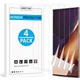 OMOTON [4 pack] Samsung Galaxy Note 20 Ultra Screen Protector - TPU Film Screen Protector for Galaxy Note 20 Ultra 6.9…