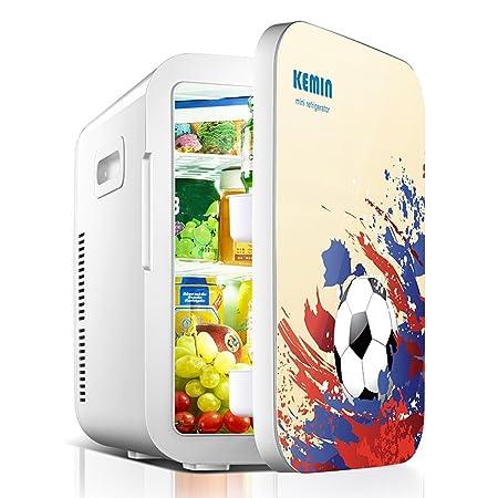 JCOCO 20L taza de fútbol silencioso de dos núcleos refrigerador y ...