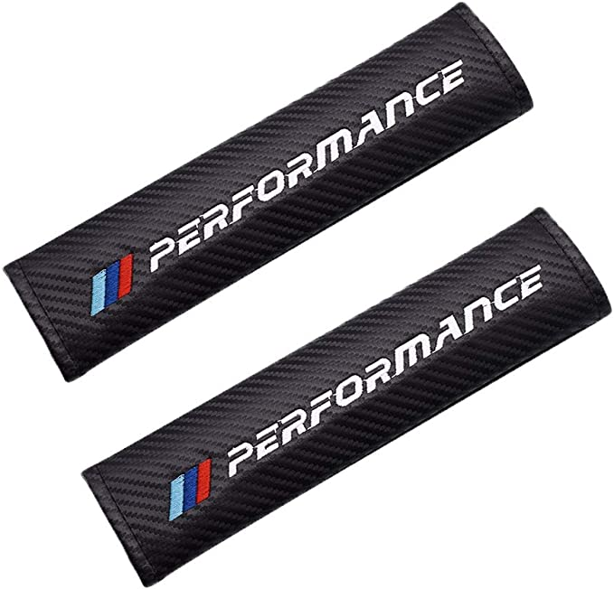 2 Pack - Car Seat Belt Covers for BMW
