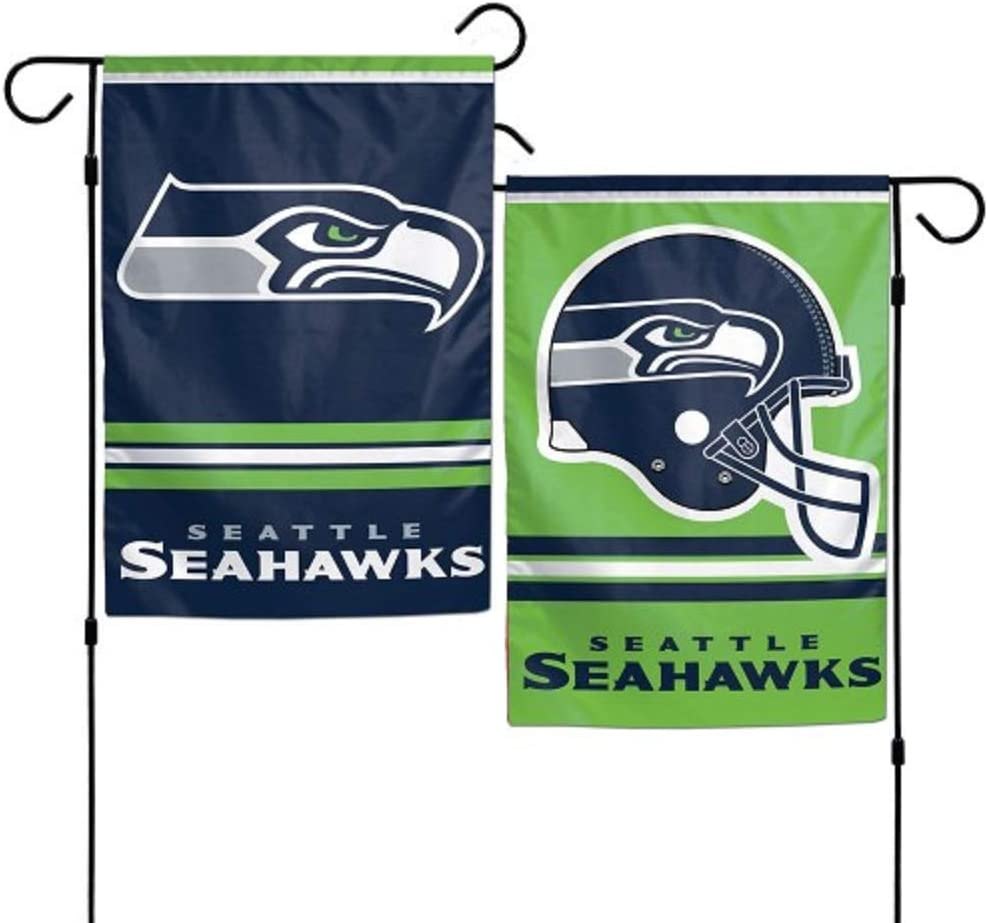 Wincraft NFL Seattle Seahawks Garden Flag, 12 Inch x 18 Inch, Team Color
